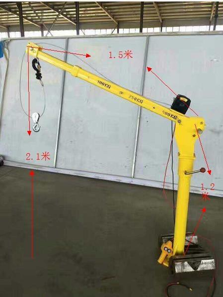 300公斤2噸車載小吊機優勢