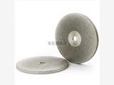 定制电镀金刚石磨盘 磁芯材料精磨抛光 100D*5T*10H*30X