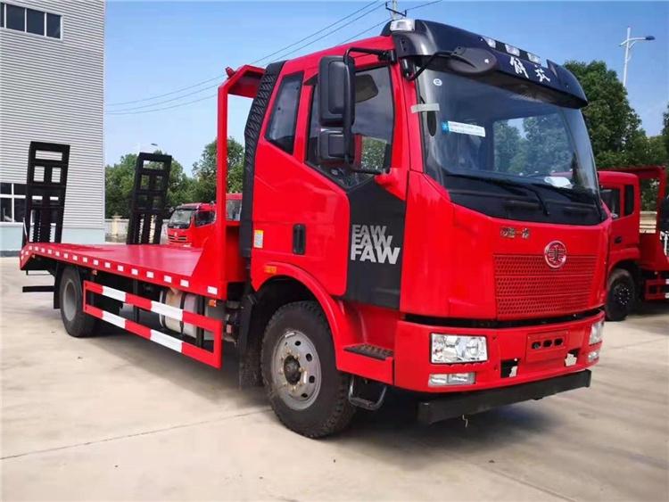 湖南小型挖機平板運輸車廠家供應