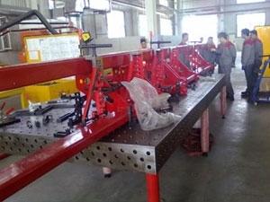 焊接工作台供应/鼎润量具sell/三维柔性焊接