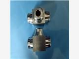 304不锈钢对焊三通接头