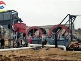 廠家定制銷售淮北山沙破碎水輪二次洗沙設備
