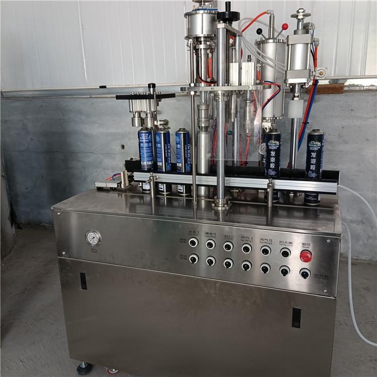 山西新中小型發泡膠灌裝生產設備