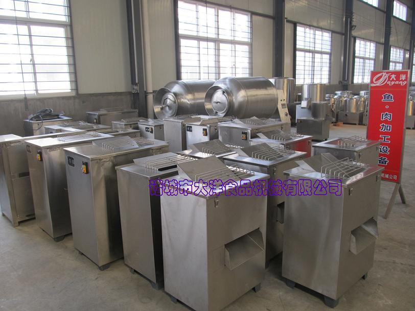 QR300/600型鲜肉切片机尺寸规整