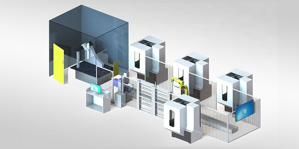 益模精钻-柔性自动化加工线体