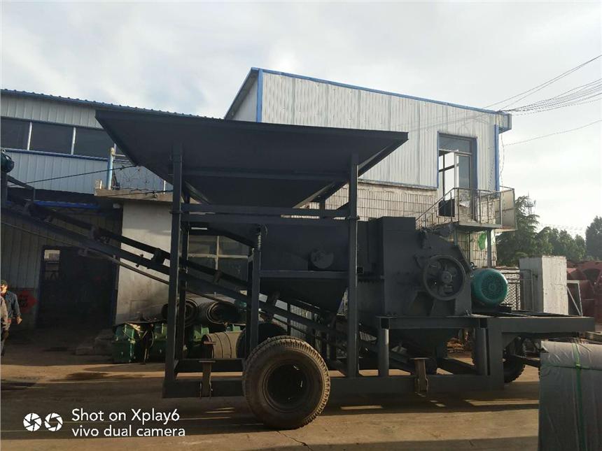 滨州大型移动石子粉碎机设备