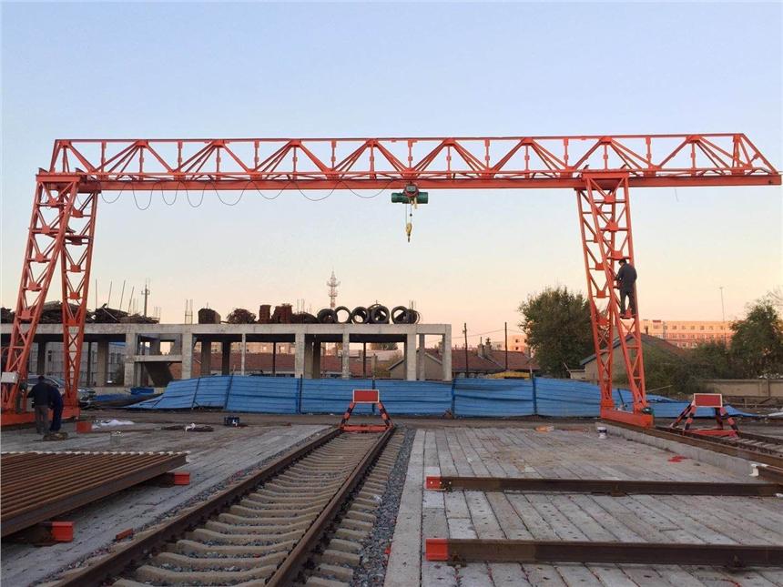 旧的70吨架桥机路桥设备提梁机二手市场