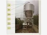 养猪专用自动化供料控料喂猪料线 镀锌板料塔 育肥舍料线