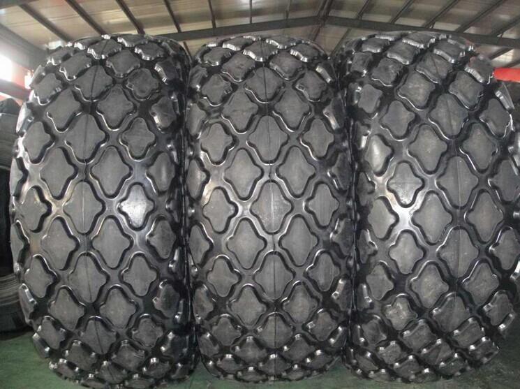 礦山裝載機菠蘿花紋輪胎廠家批發價格20.5--25送內胎