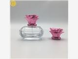 冠铖鑫创意玫瑰花香水盖 喷雾款化妆品金属盖 定制锌合金香水盖