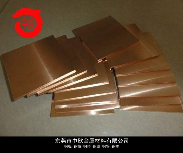 抗火花鈹青銅厚板價格