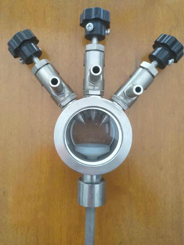 三头甲醇滴注器 不锈钢滴量器 型号DZQ-03