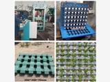 全自动植草砖机生产设备 3-15型小区广场草坪砖机 免烧砖机