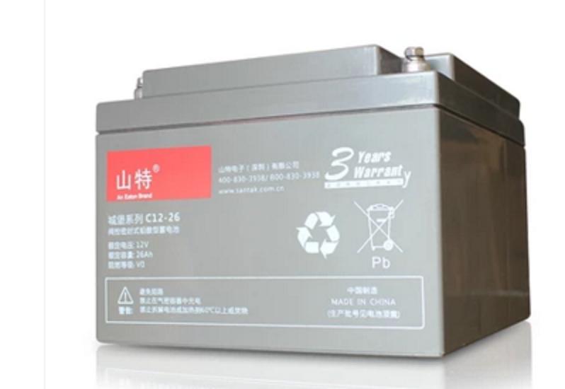 山特蓄电池12V65AH 山特城堡蓄电池C12-65原装报价