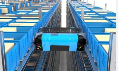 料箱式多层穿梭车货架生产厂家-恒力达