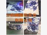 供应全铝3D彩绘吊顶天花UV彩绘铝扣板天花