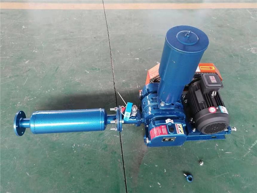 HCSR100羅茨風機 4KW羅茨鼓風機 重慶污水處理羅茨風機