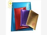 山東威海供應鍍鋁膜復合氣泡袋電子產品防靜電防震郵寄包裝袋規格可定制