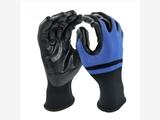 15针HPPE玻纤掌涂丁腈光面耐磨防切割手套
