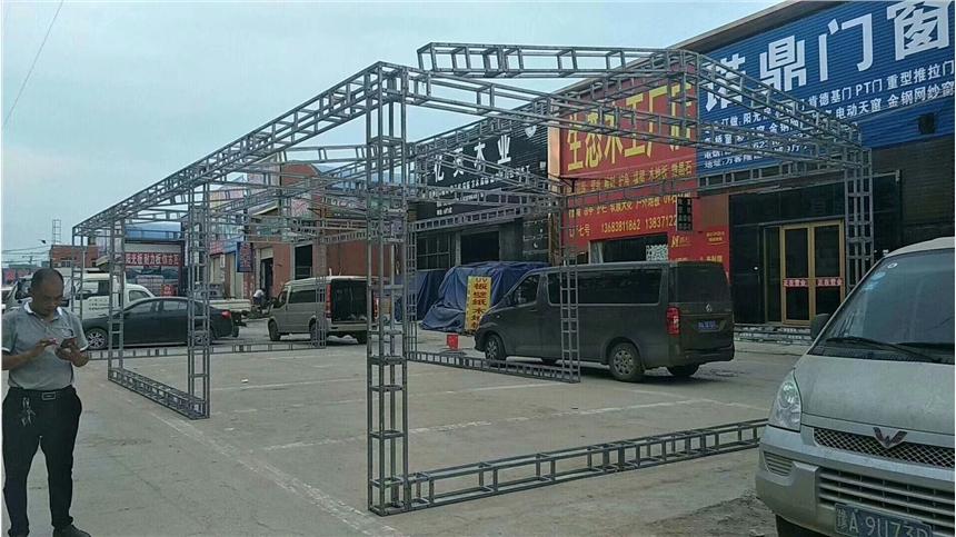 鄭州會議慶典物料桁架舞臺租賃搭建價格
