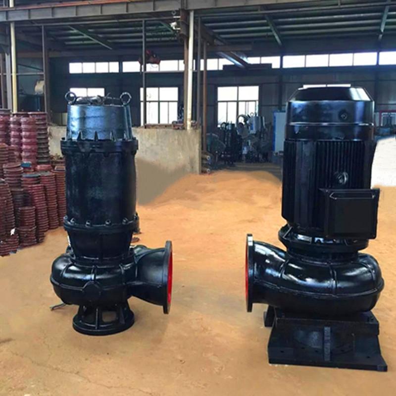 山阳便携式抽水机150WQ180-30-30潜水排污泵厂家