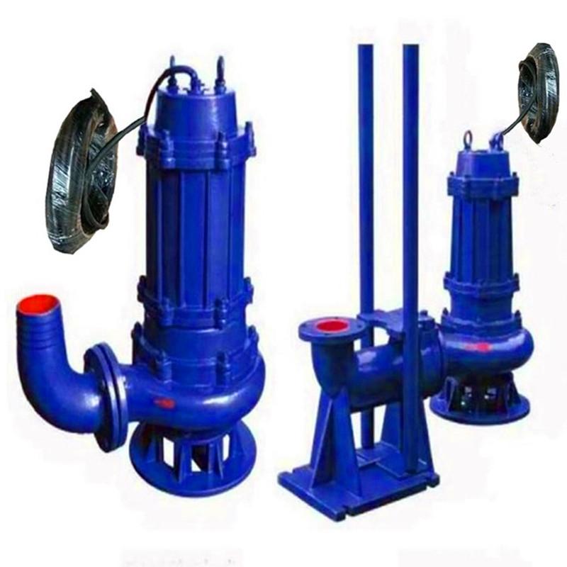 幸福便攜式抽水機250WQ600-12-37潛水排污泵廠家