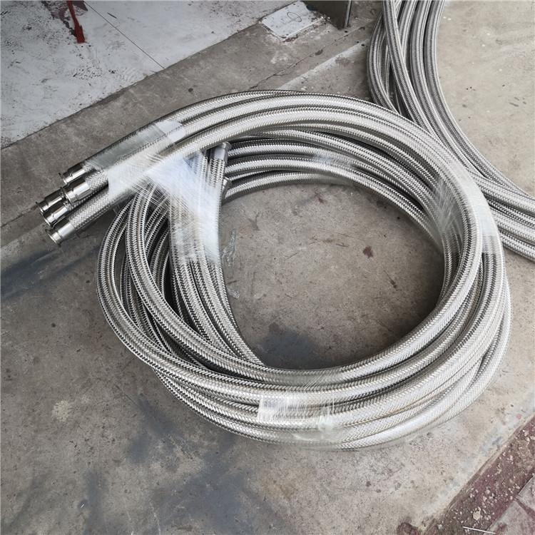 卡盘酒厂金属软管 丝扣不锈钢软管 河北超然 大口径不锈钢波纹金属软管安装灵活