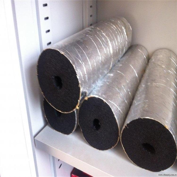 阻燃抗震b1级防水橡塑海绵板一卷多少钱