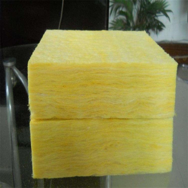 黃色玻璃棉裁條保溫板廠家定做價格每立方