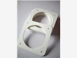 耐高溫陶瓷纖維墊片,廣州市硅酸鋁耐火纖維氈墊片1260攝氏度