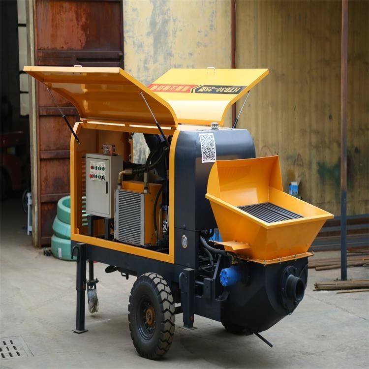 50大骨料输送泵 煤矿用室内浇筑泵产品价格