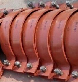碳鋼雙排螺栓管夾加工生產