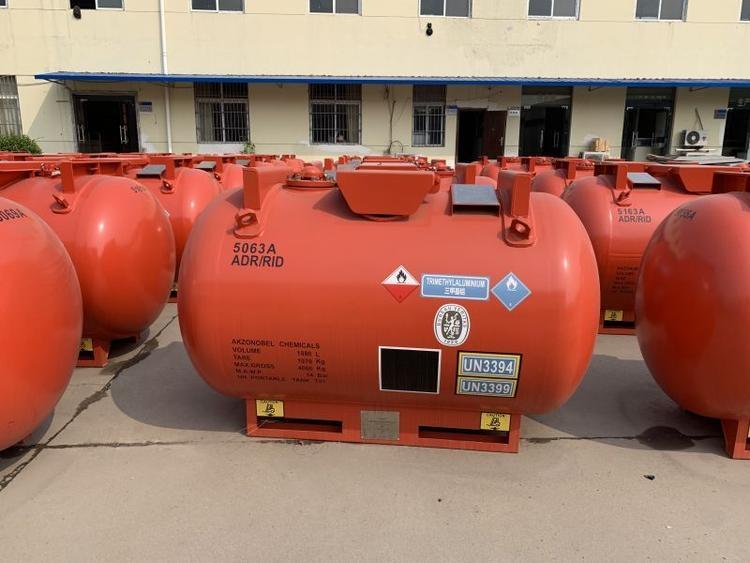 河南許昌市1.75立方可移動罐柜廠家直銷功能船級社CCS/BV/ASME認證