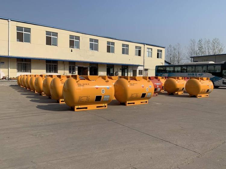 天津T21罐箱制造工廠圖片船級社CCS/BV/ASME認證