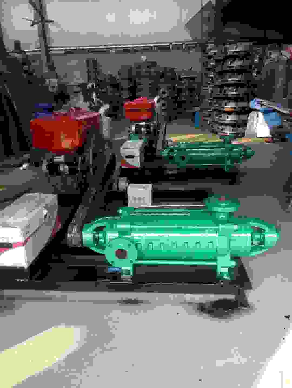 DG型多級泵故障排除方法