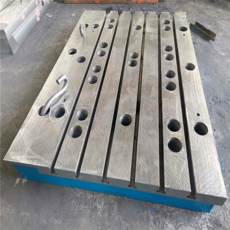 鑄鐵平臺平板空氣彈簧調試 鑄鐵平板噸位價