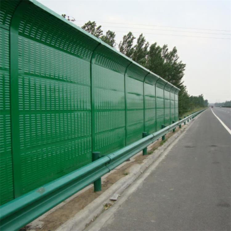 金属百叶吸音孔公路冷却塔声屏障 隔音墙全国销售