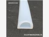 耐高温D型硅胶密封条 蒸箱机械机木门硅胶D型空心条