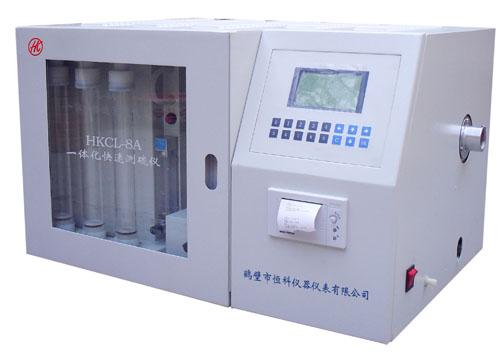 定硫仪/一体化快速测硫仪/化验煤硫分仪器的厂家