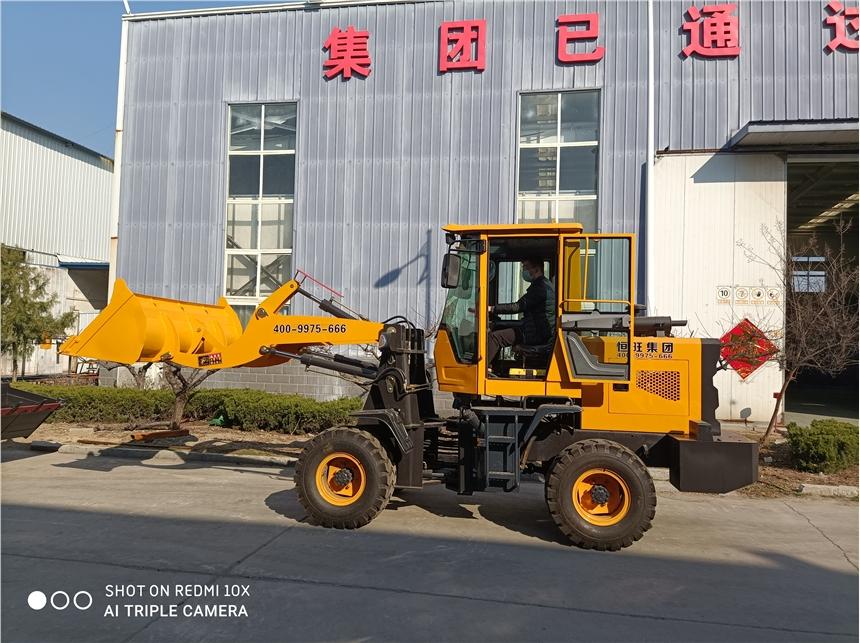 恒旺集團 小型裝載機 小型鏟車 抓木車 各種型號 廠家
