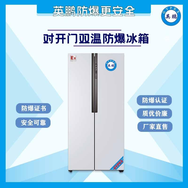 浙江實驗室對開門防爆冰箱-600L