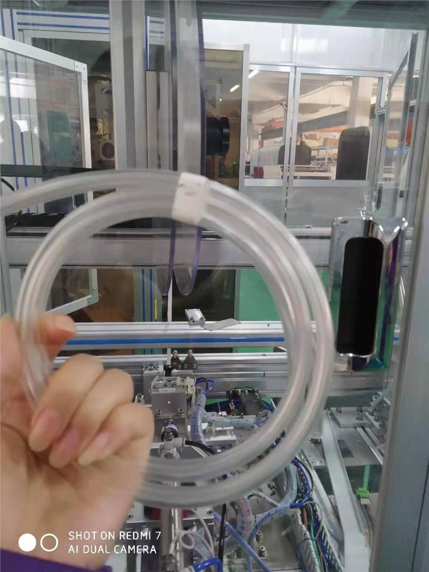 雙導管繞管扎帶設備