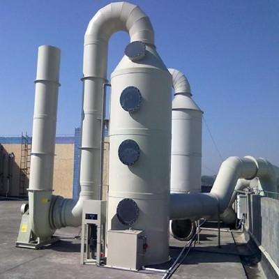 噴淋塔,PP噴淋塔特點,工業酸霧廢氣噴淋塔,北京華康中天環保