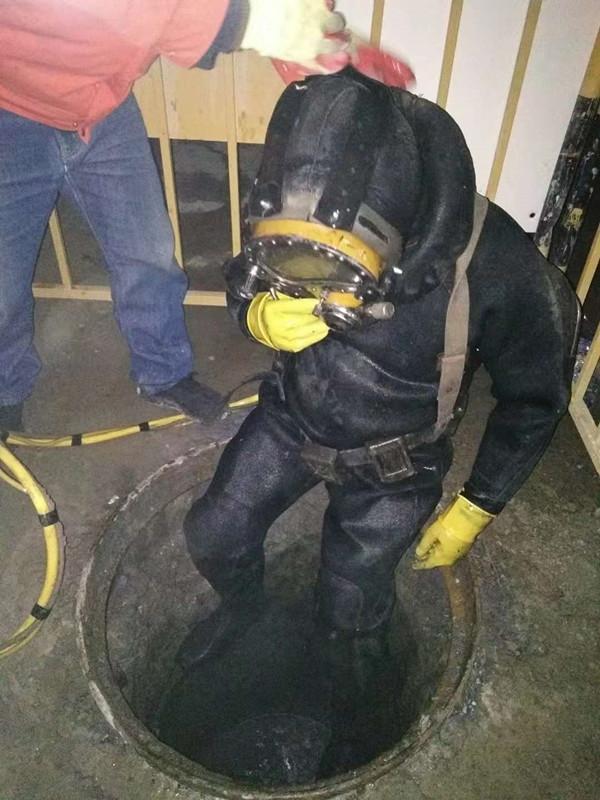 封丘水下漏洞檢查堵水施工隊