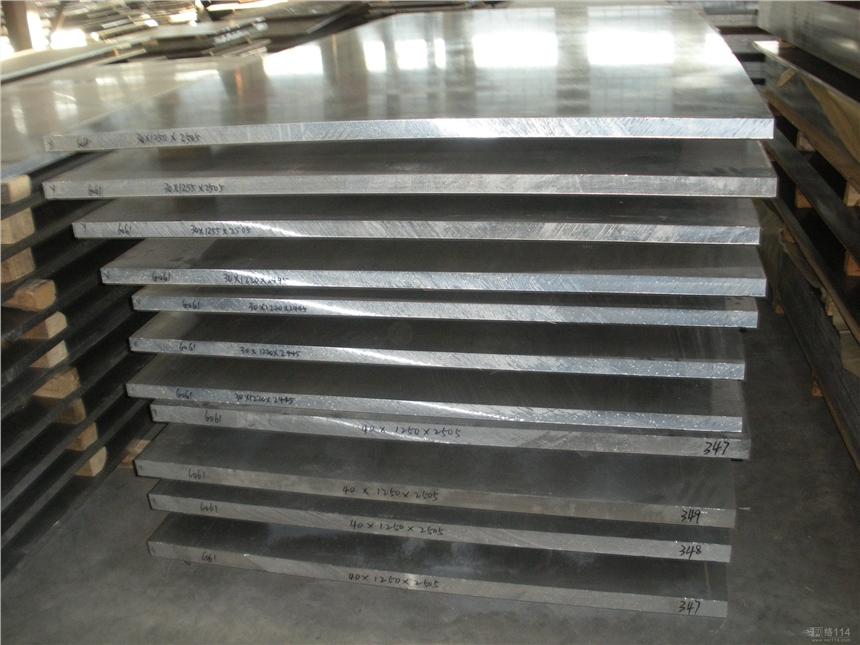 1060拉丝铝板 1060纯铝板 工业铝板
