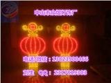 led燈籠 LED燈籠 市政春節亮化裝飾2米扇形中國結