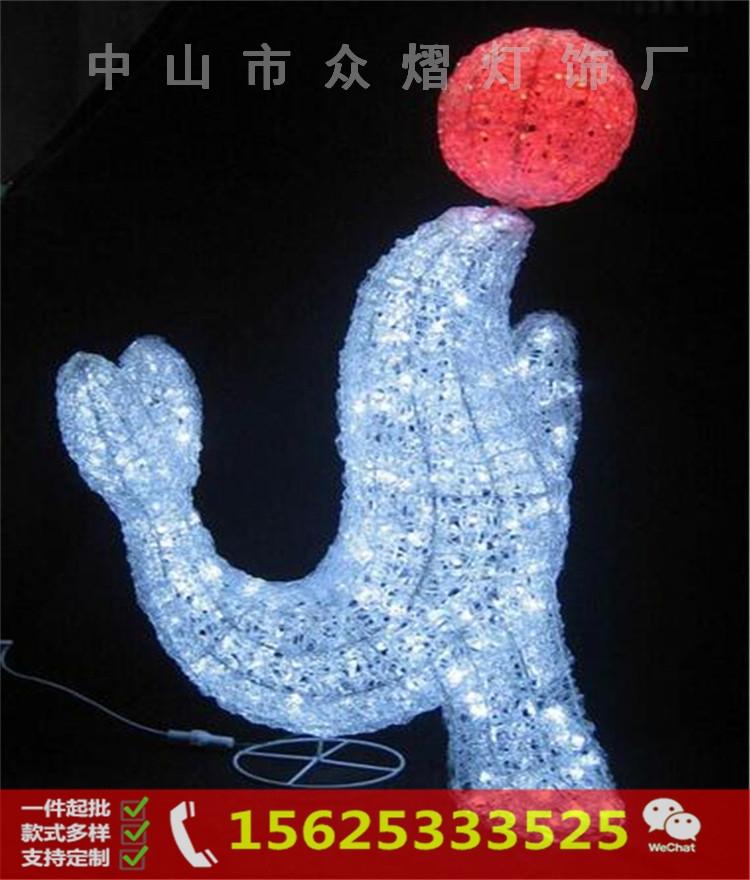 直径45CM圆球灯 LED 滴塑造型灯 3D图案造型灯 LED圣诞装饰灯