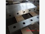 剪板機刀片廠家 現貨供應液壓1300*80*20材質9crsi擺式剪板機刀片