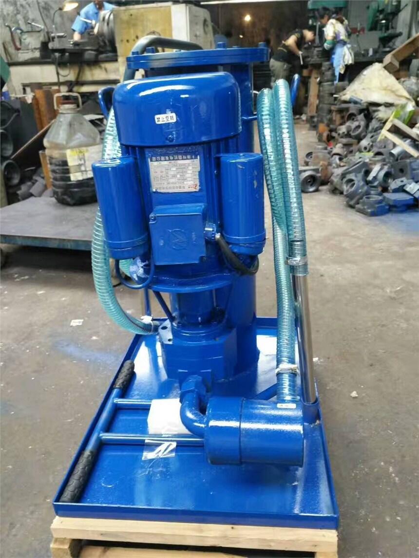 过滤设备滤油机新乡市永科净化设备产品展示luc系列滤油排水潜污泵图片