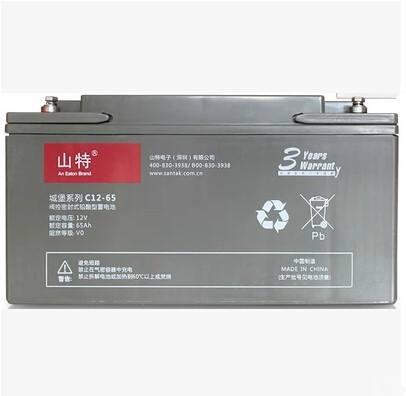 肇庆供应12V65AH山特蓄电池